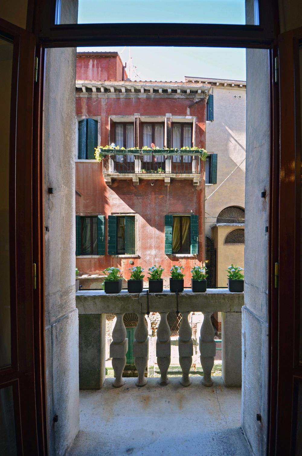 ...a truly Venetian apartment