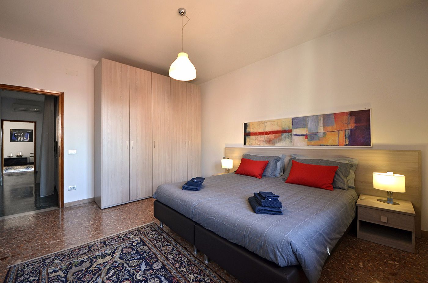 second bedroom, it can be used as double or twin