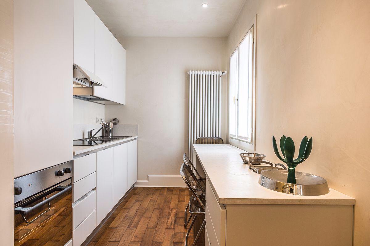 modern and full optional kitchen