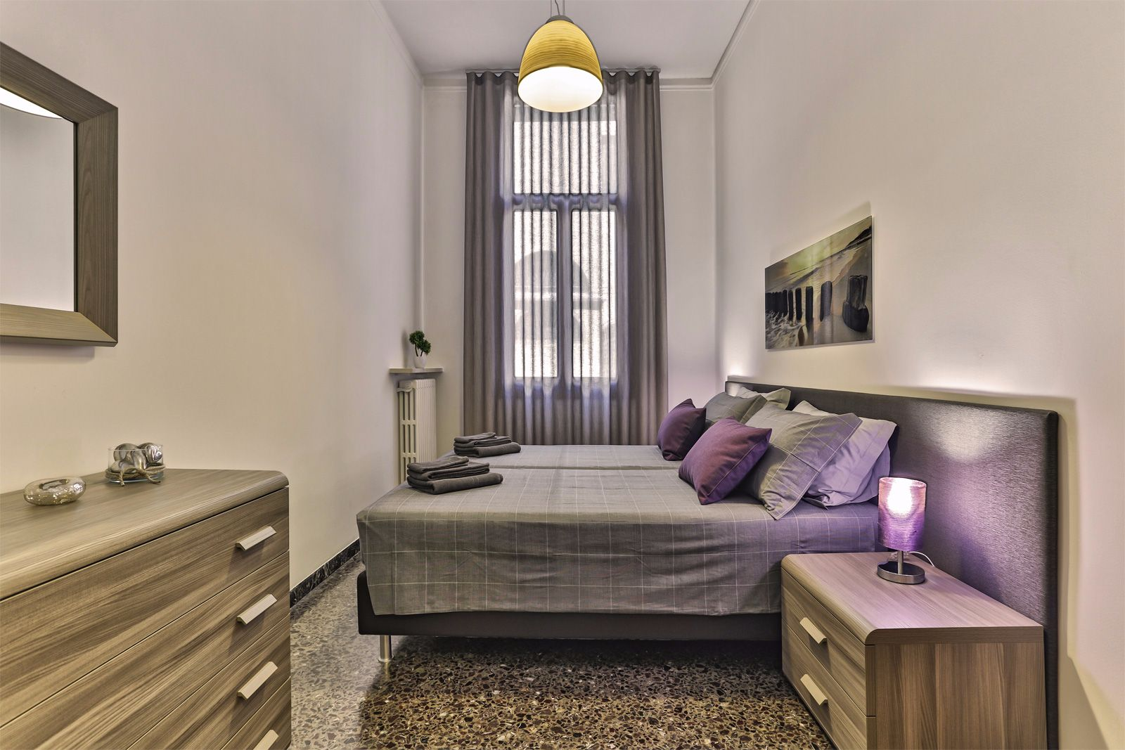 third bedroom, can be prepared as double or twin