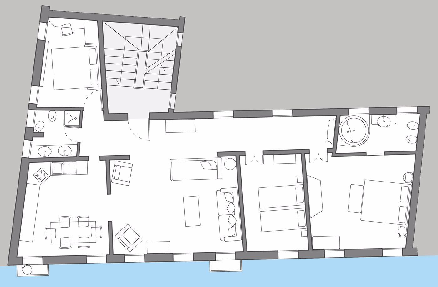 Da Vinci floor plan