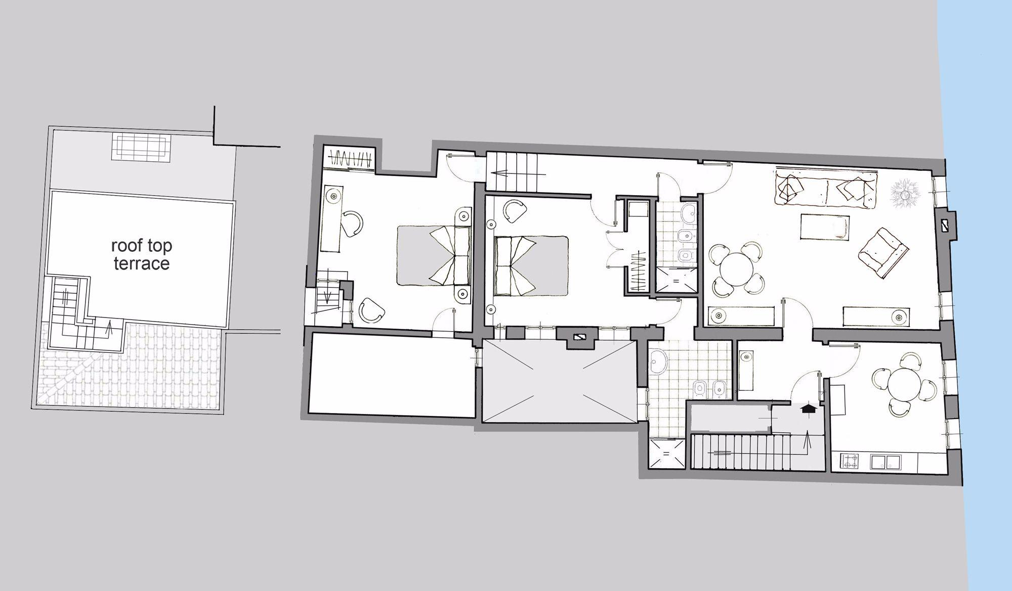 Querini floor plan