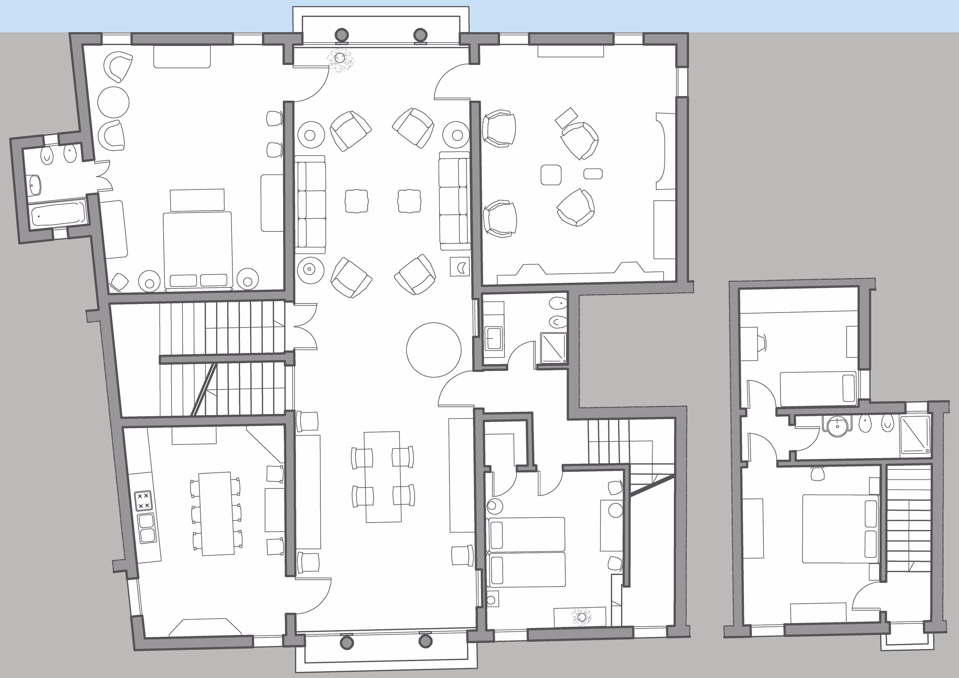 Brunelleschi floor plan