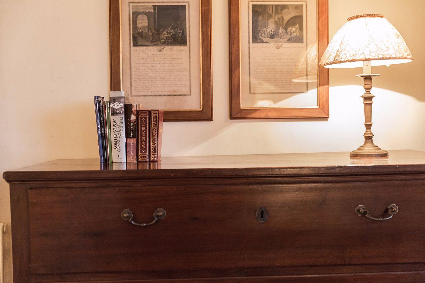 antique furniture details