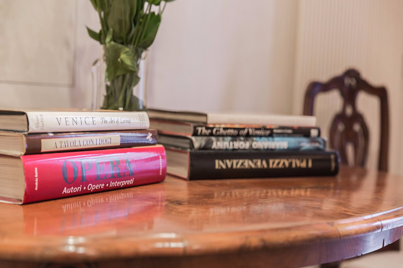 at the Tintoretto you can find interesting books about the history and culture of Venice