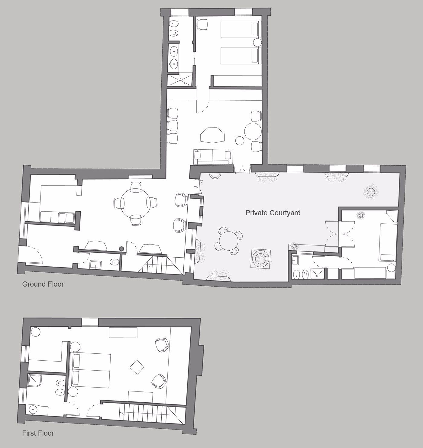 Tintoretto floor plan