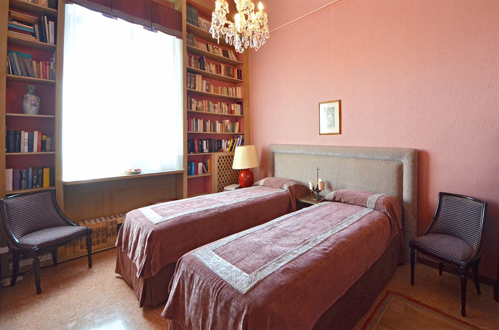 third spacious bedroom that can be used as double or twin