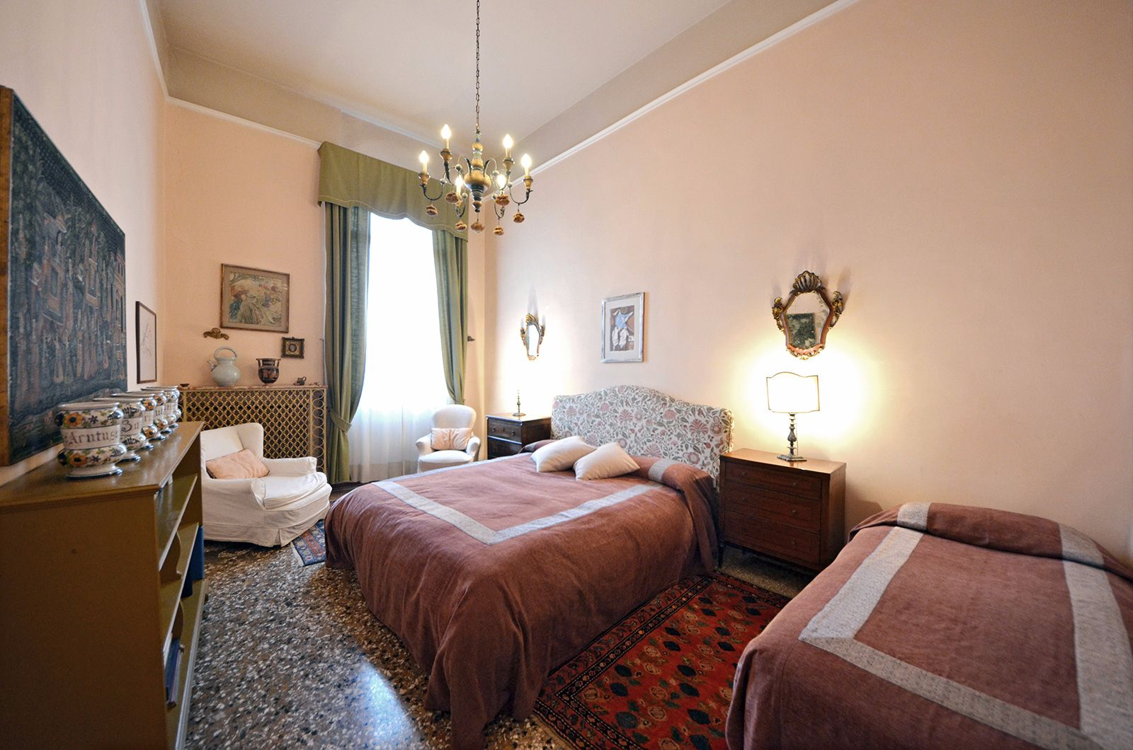 second elegant and spacious double bedroom