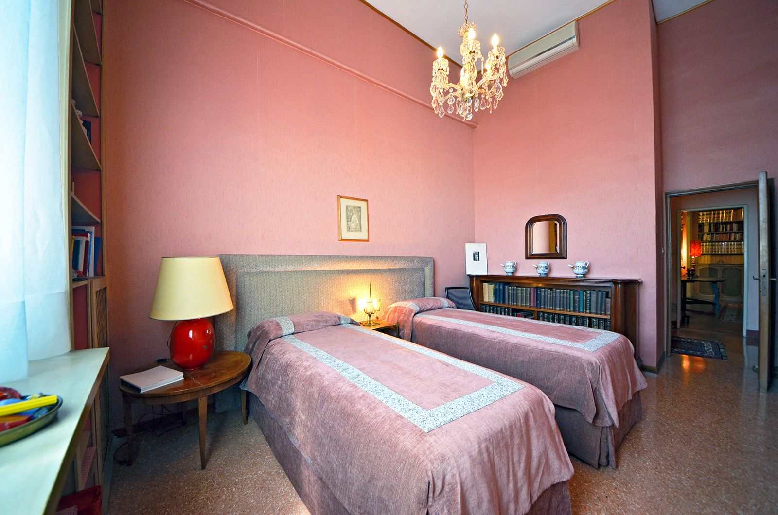 third spacious bedroom that can be used as double or twin on request