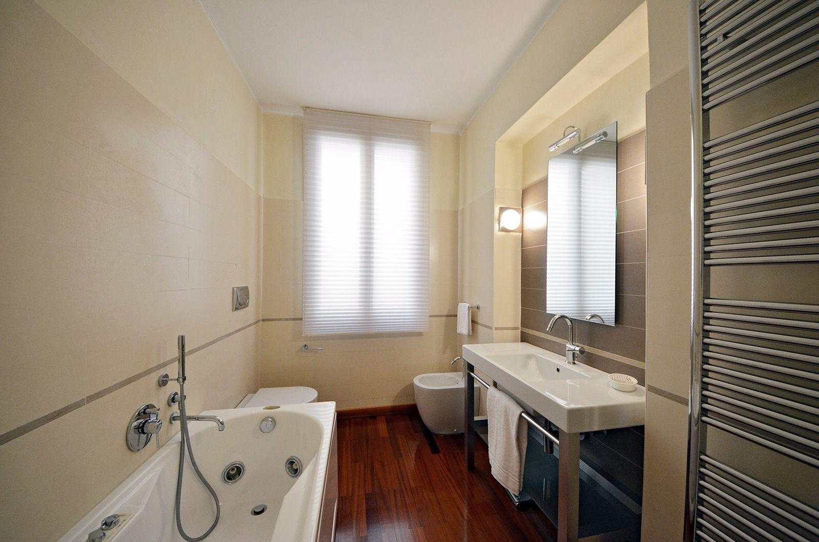 newly renovated bathroom with Jacuzzi bathtub