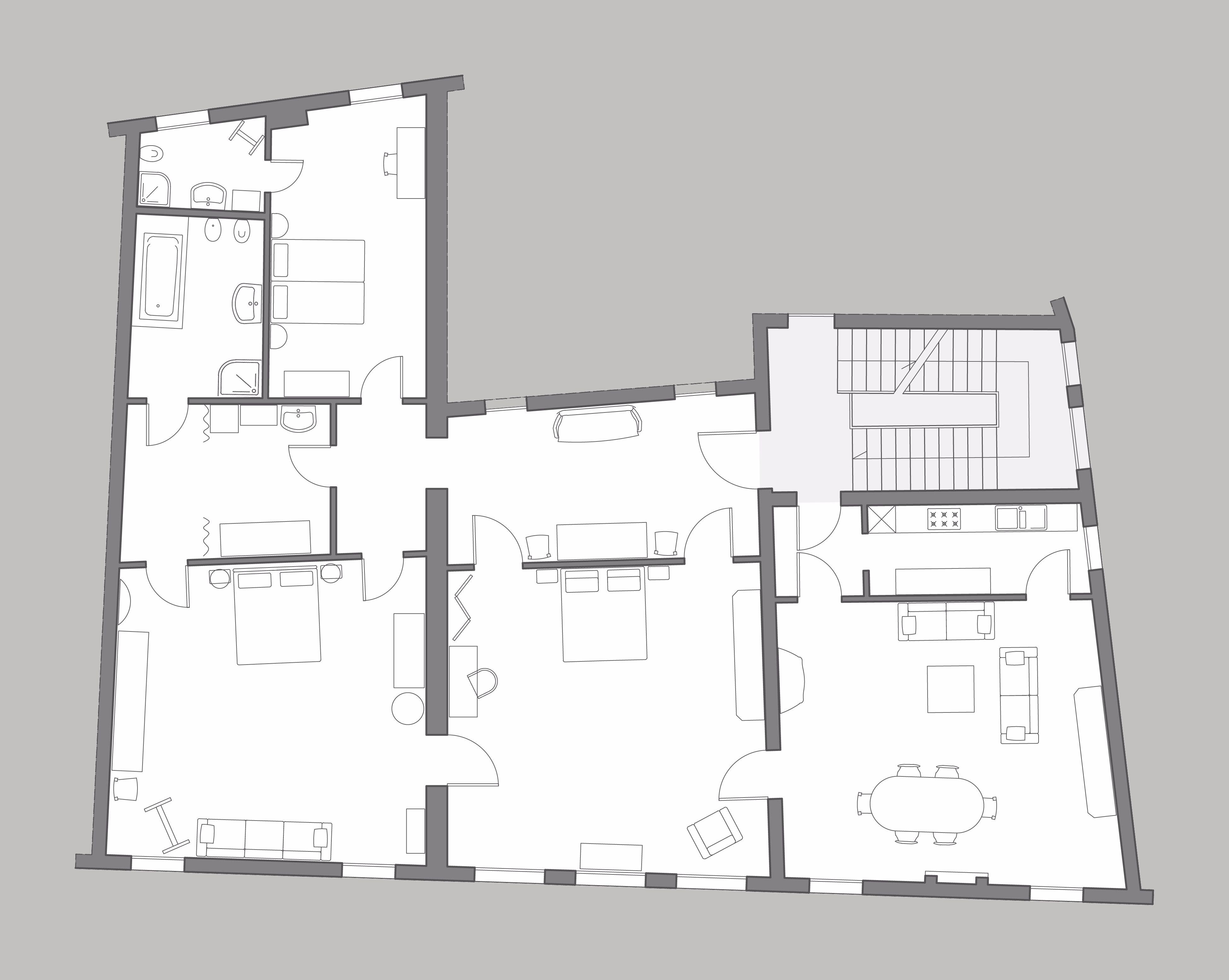 Fortuny floor plan