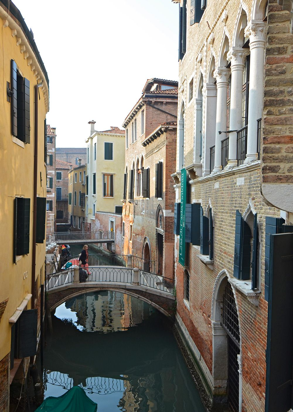 picturesque canal view from the second bedroom