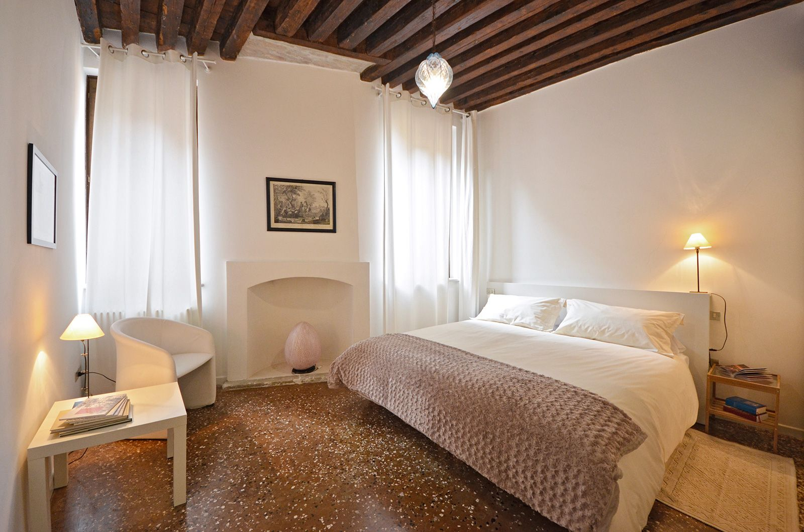 the second bedroom can be prepared both as double or twin, on request