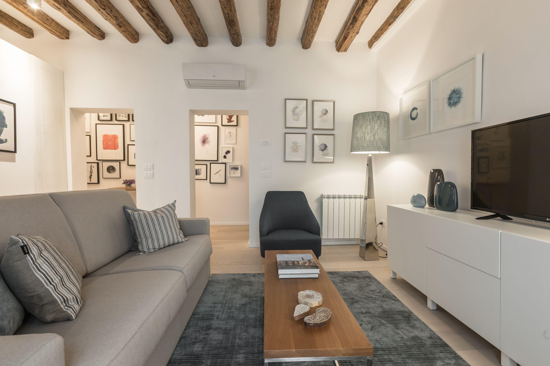stylish interior design and comfortable furniture