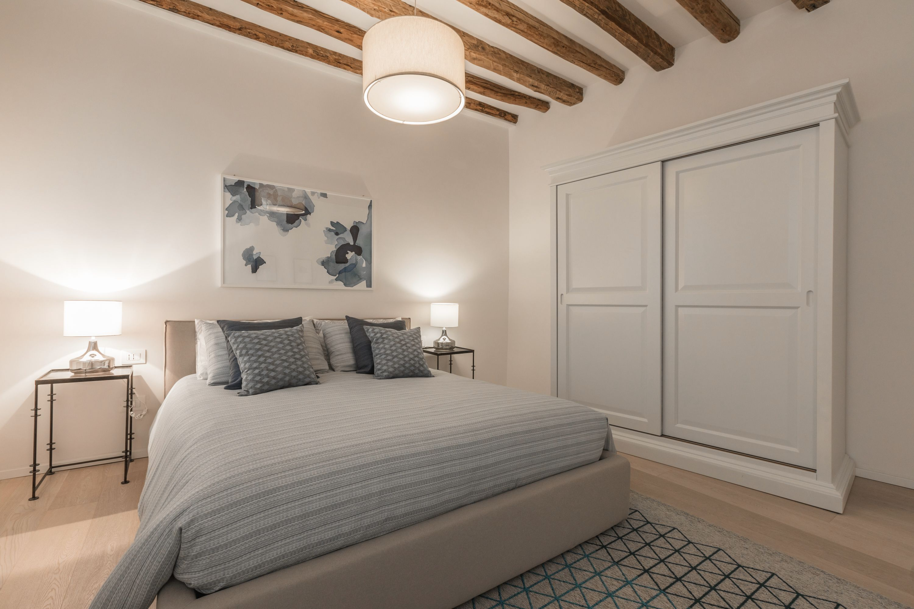 large and graceful master bedroom