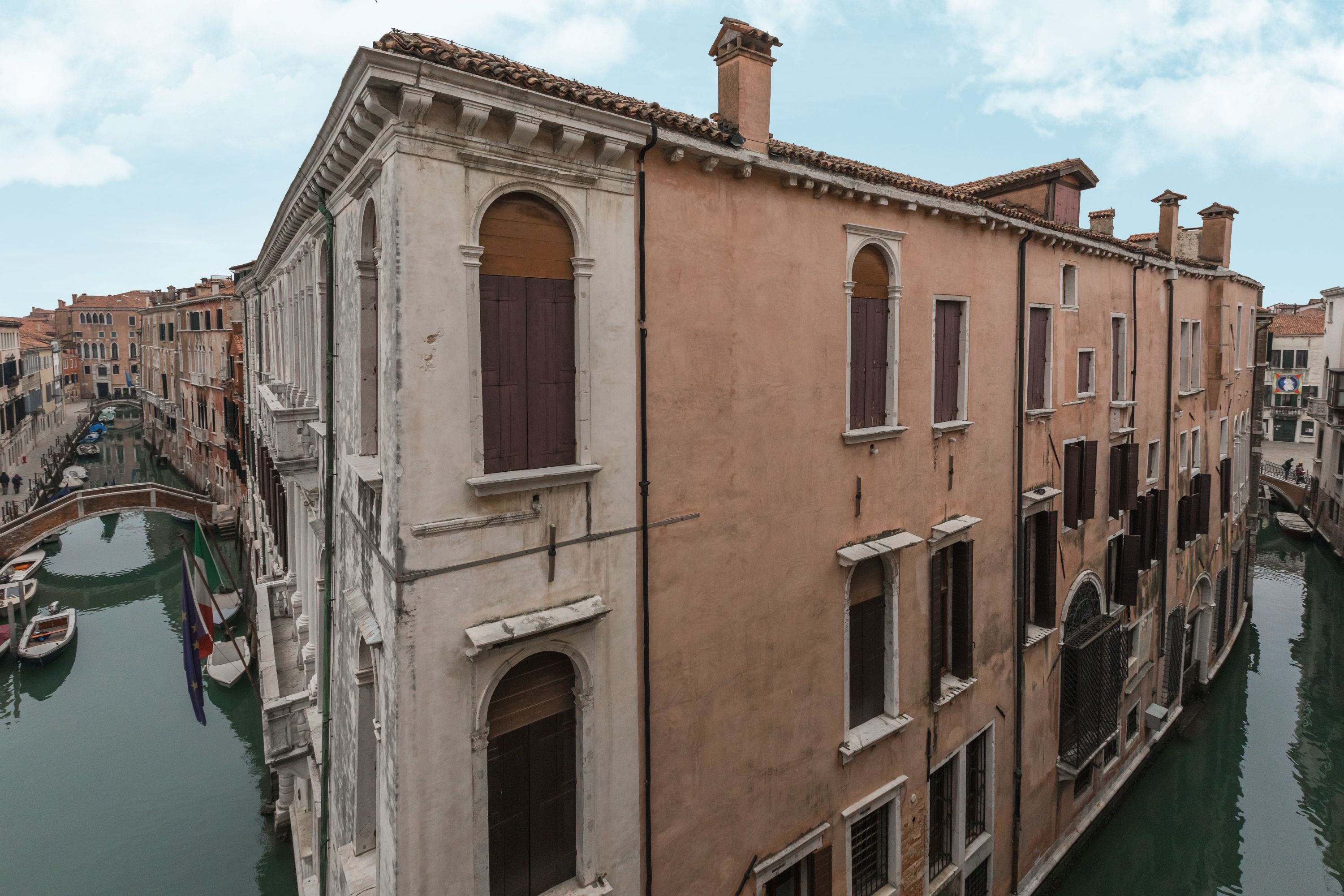 ...on two canals and Palazzo Grimani Museum