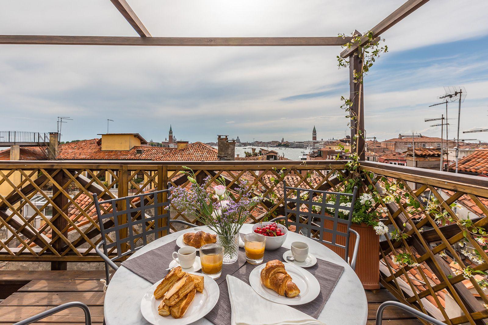 Arsenale Terrace breathtaking view on San Marco and San Giorgio
