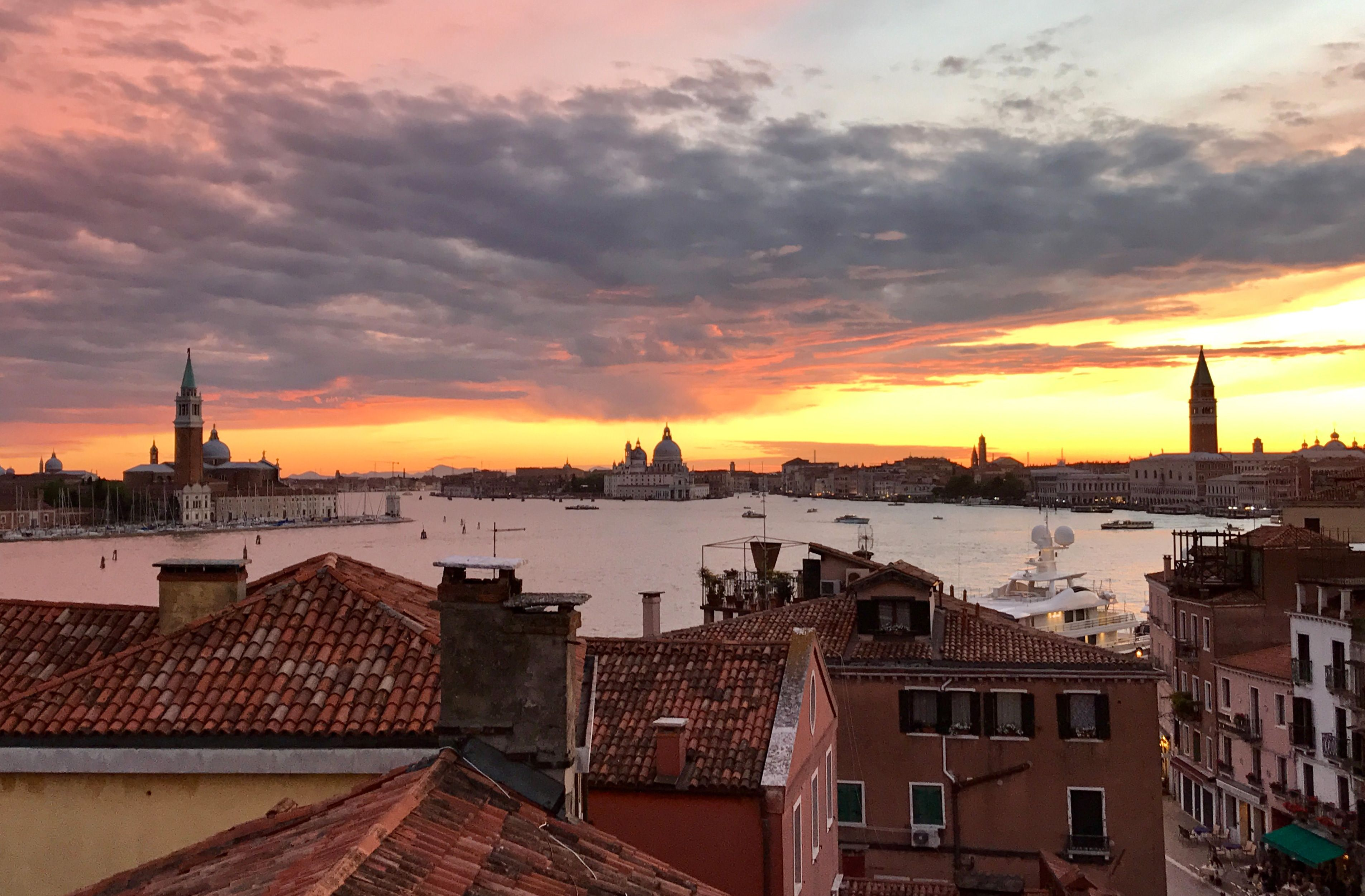 Enjoy the Venetian Sunset from the panoramic terrace!