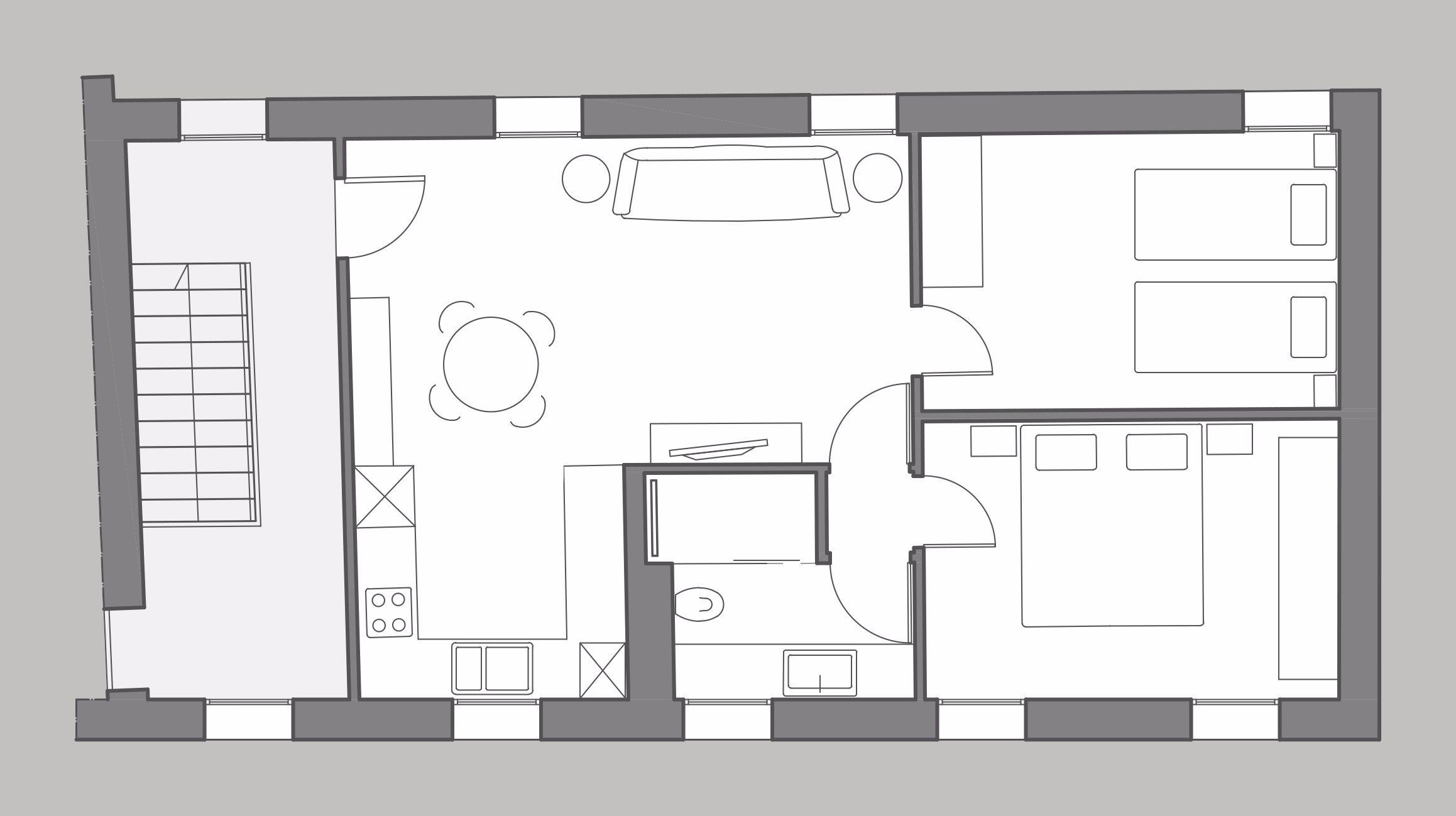 Zen floor plan