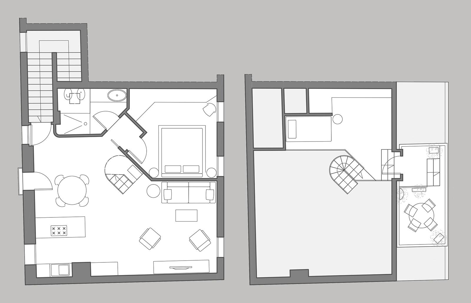 Arsenale Terrace floor plan