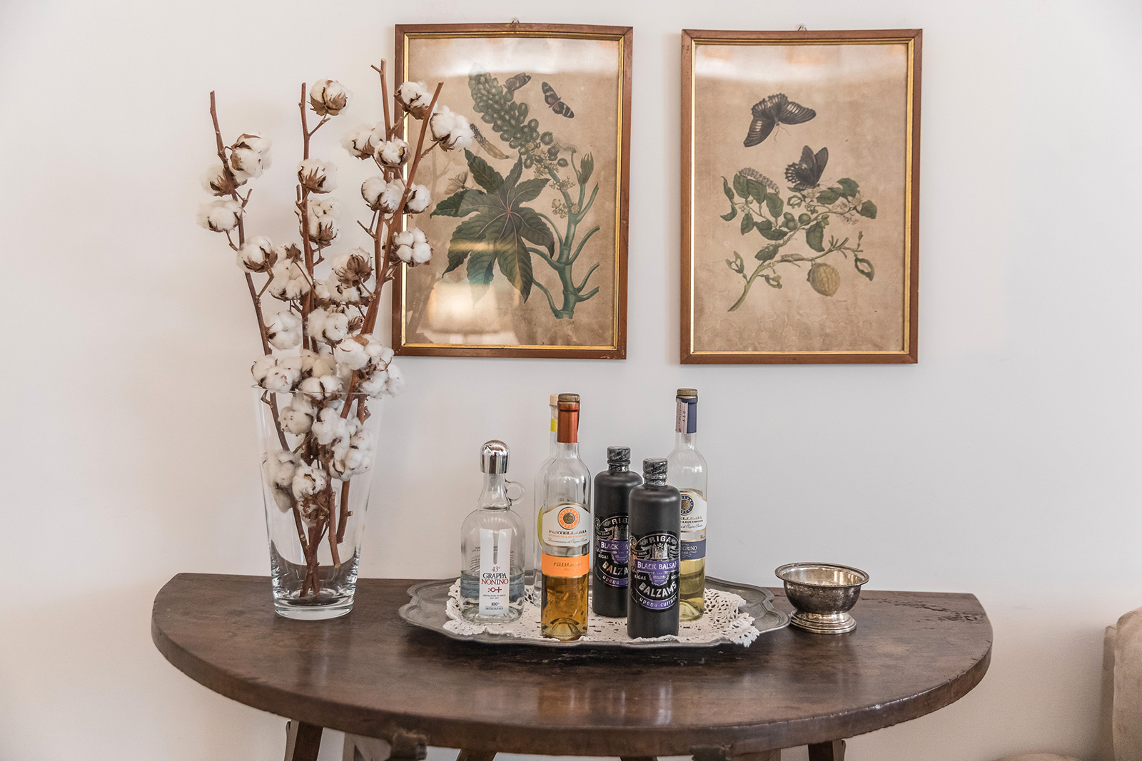 the caring owner always leave some spirits for the guests of the Querini apartment