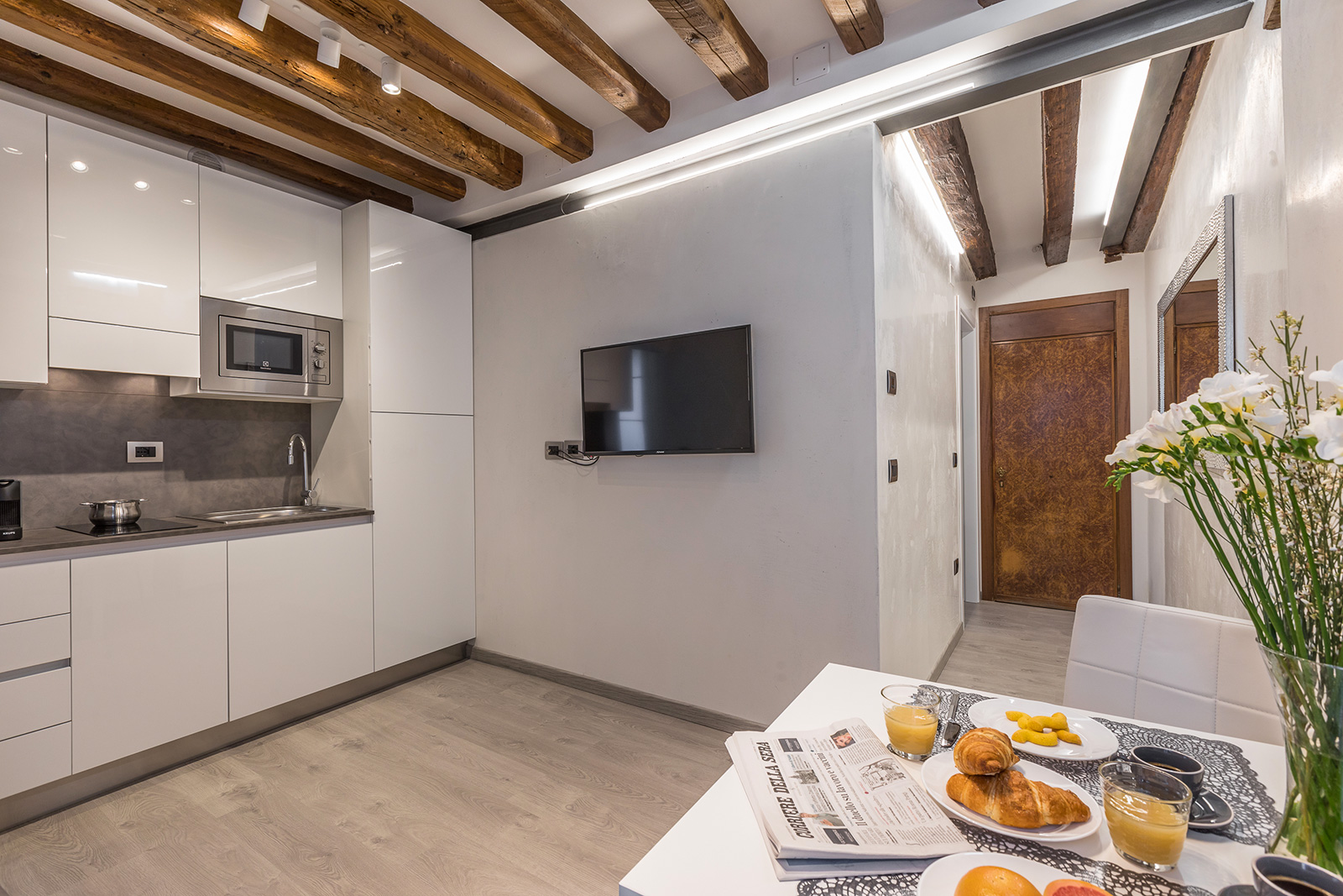 small but functional apartment