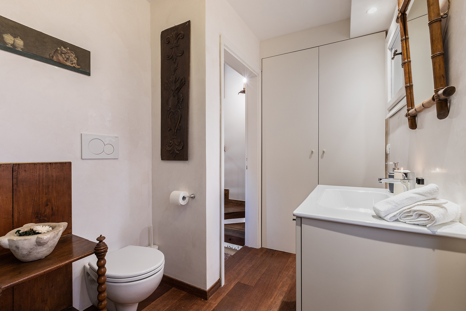 brand new bathroom with large shower at the 1st floor